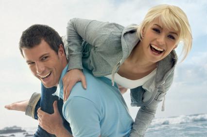 fun young couple